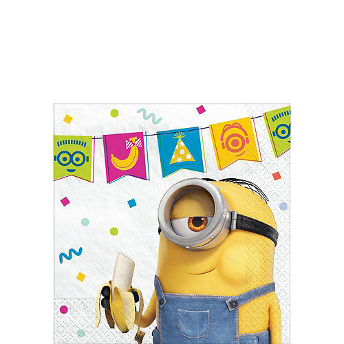 Minions Tableware Party Kit for 24 Guests Image #4
