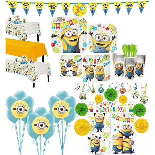 Minions Tableware Ultimate Kit for 24 Guests Image #1