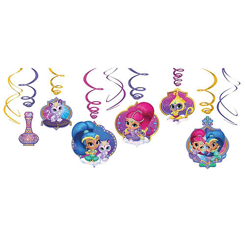 Shimmer and Shine Tableware Ultimate Kit for 16 Guests Image #11