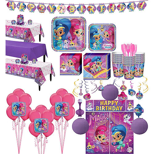 Shimmer and Shine Tableware Ultimate Kit for 24 Guests Image #1