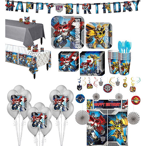 Transformers Tableware Ultimate Kit for 16 Guests Image #1
