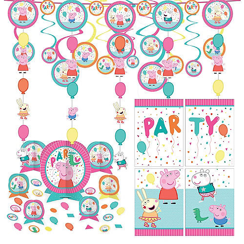 Peppa Pig Birthday Party Decorating Kit Image #1