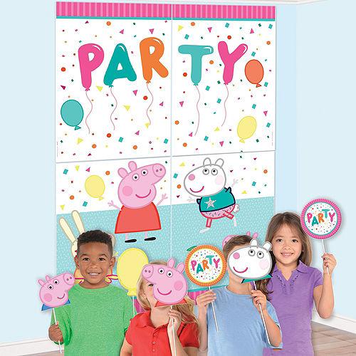 Peppa Pig Birthday Party Decorating Kit Image #2
