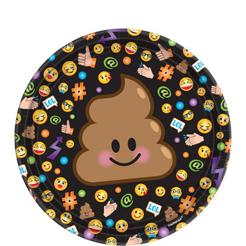 Smiley Tableware Party Kit for 8 Guests Image #2