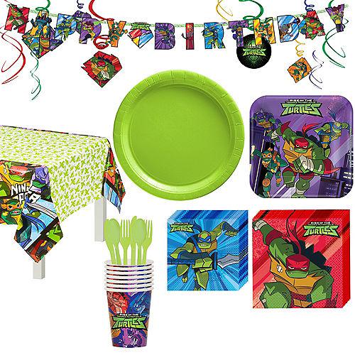 Rise of the Teenage Mutant Ninja Turtles Tableware Kit for 8 Guests Image #1