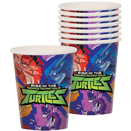 Rise of the Teenage Mutant Ninja Turtles Tableware Kit for 16 Guests Image #6
