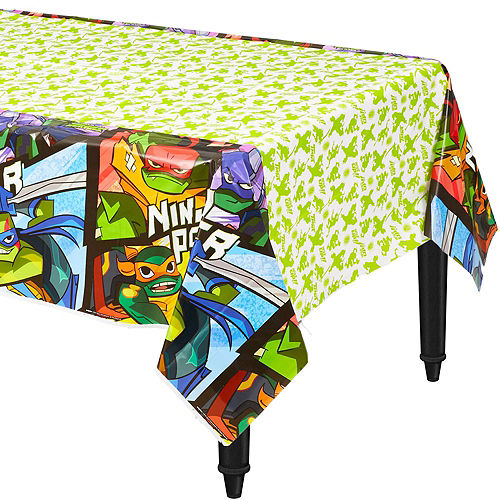 Ultimate Rise of the Teenage Mutant Ninja Turtles Tableware Kit for 24 Guests Image #7