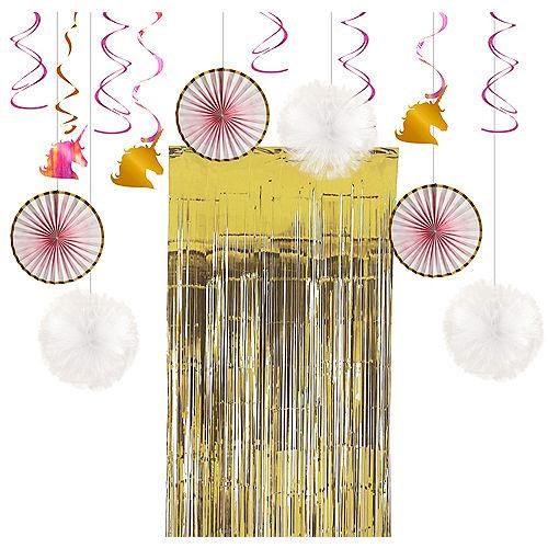 Sparkling Unicorn Decorating Kit Image #1