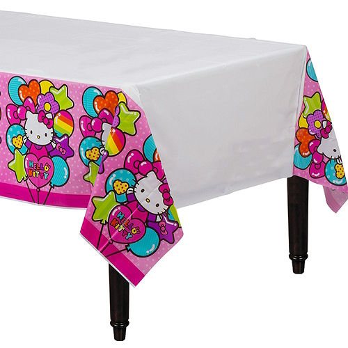 Rainbow Hello Kitty Tableware Party Kit for 8 Guests Image #7