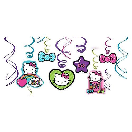 Rainbow Hello Kitty Decorating Kit Image #2
