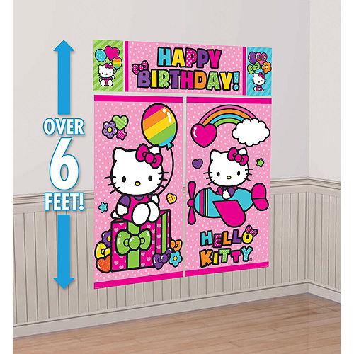 Rainbow Hello Kitty Decorating Kit Image #3