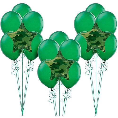 Camouflage Balloon Kit Image #1