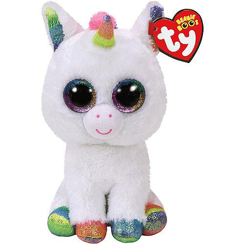 Pixy Beanie Boo Unicorn Plush Image #1