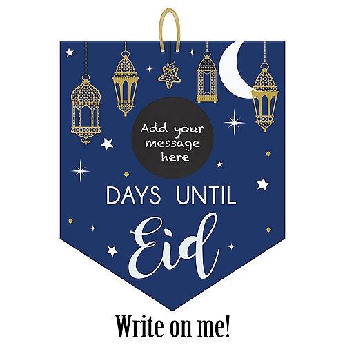 Eid Countdown Chalkboard Sign Image #1