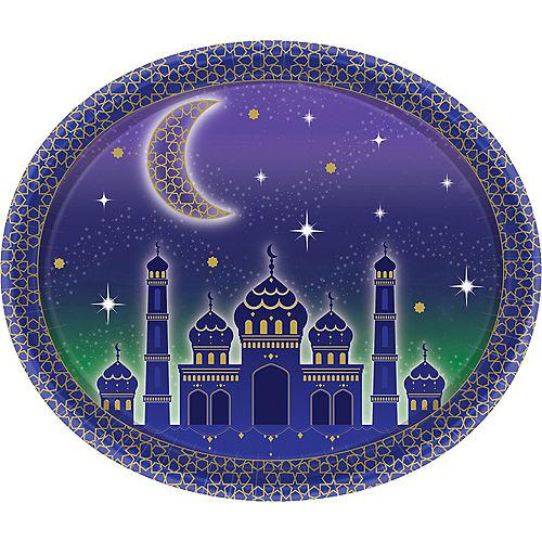 Eid Oval Plates 8ct Image #1