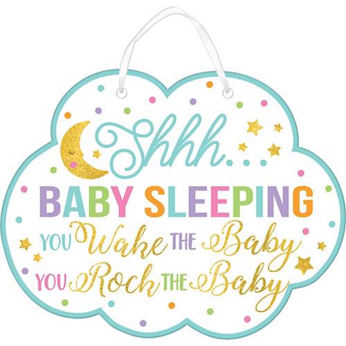 Glitter Baby Sprinkle Baby Shower Sign Image #1