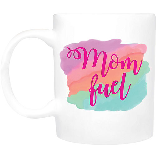 Mom Fuel Coffee Mug Image #1