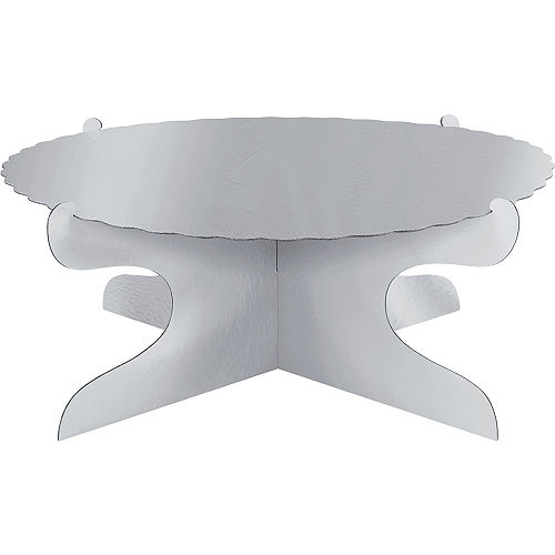 Silver Cake Stand Image #1