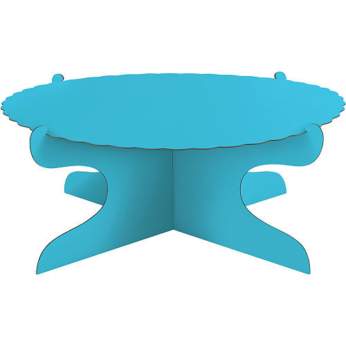 Caribbean Blue Cake Stand Image #1