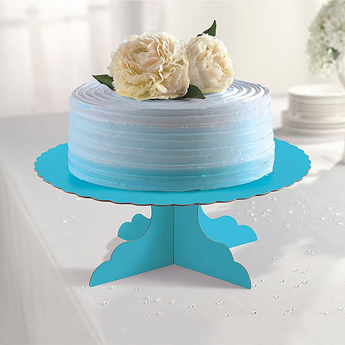 Caribbean Blue Cake Stand Image #2