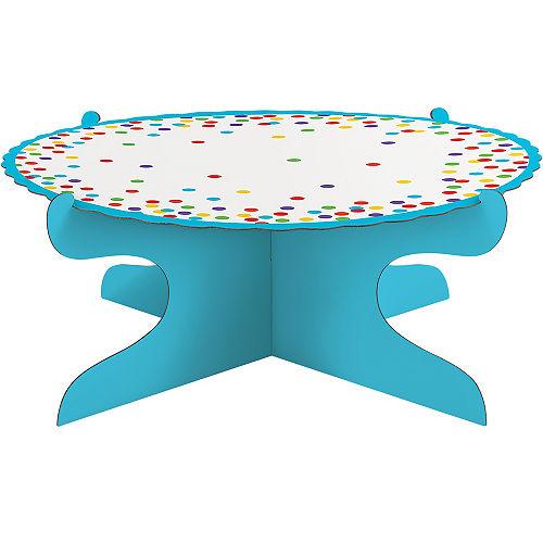 Rainbow Dots Cake Stand Image #1