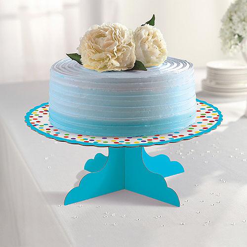 Rainbow Dots Cake Stand Image #2