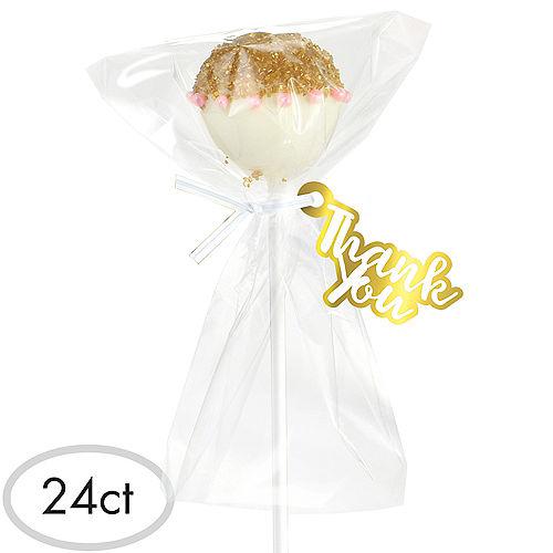 White Cake Pop Kit for 24 Image #1