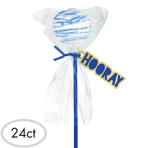 Royal Blue Cake Pop Kit for 24 Image #1