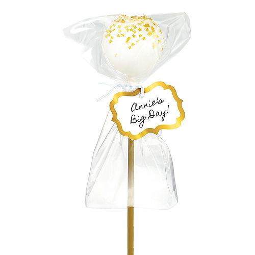 Gold Cake Pop Kit for 24 Image #1