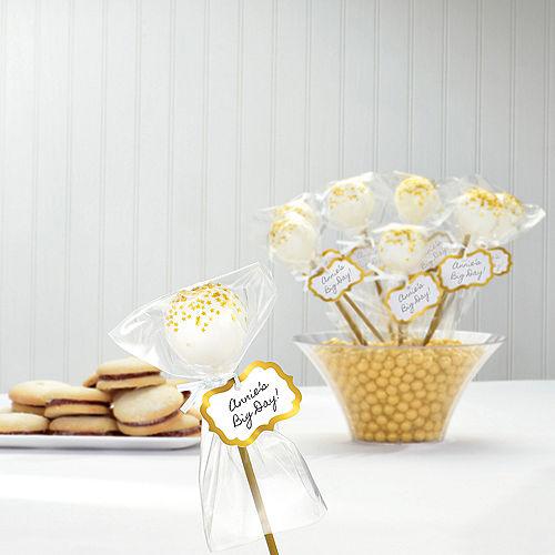 Gold Cake Pop Kit for 24 Image #2