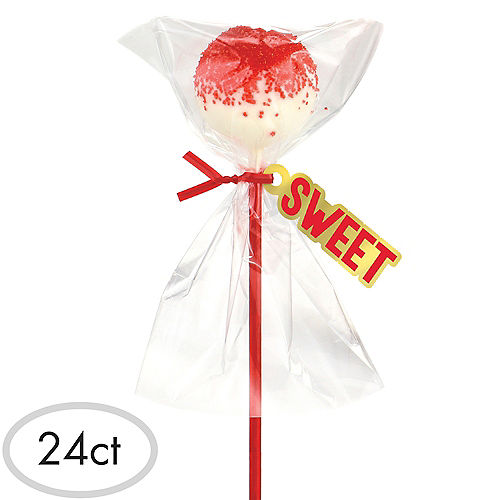 Red Cake Pop Kit for 24 Image #1