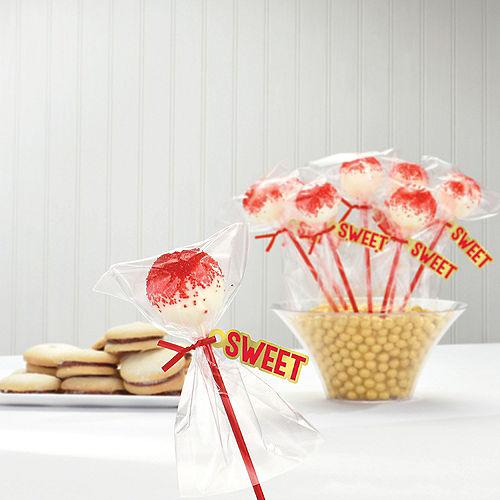 Red Cake Pop Kit for 24 Image #2