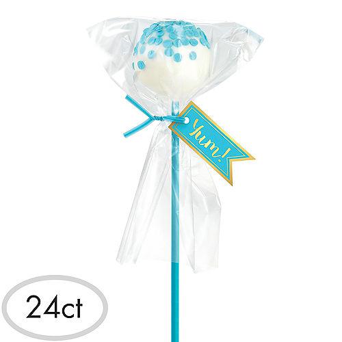 Caribbean Blue Cake Pop Kit for 24 Image #1