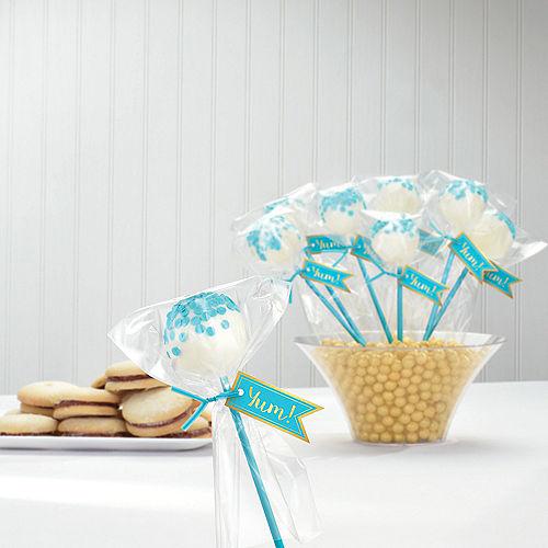 Caribbean Blue Cake Pop Kit for 24 Image #2