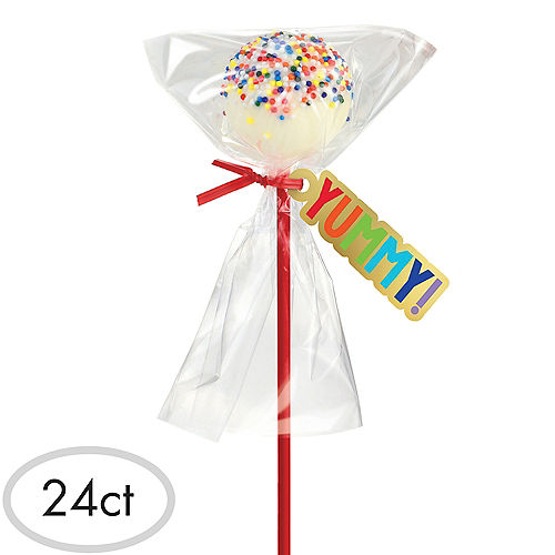 Rainbow Cake Pop Kit for 24 Image #1