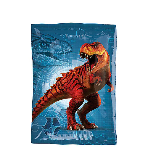Rectangular Jurassic World Balloon 16in x 21in Image #2
