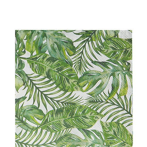 Tropical Wedding Lunch Napkins 16ct Image #1