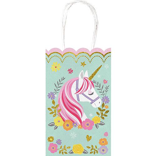 Magical Unicorn Kraft Bags 10ct Image #1