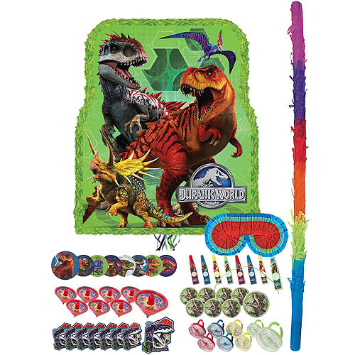 Jurassic World Pinata Kit with Favors Image #1