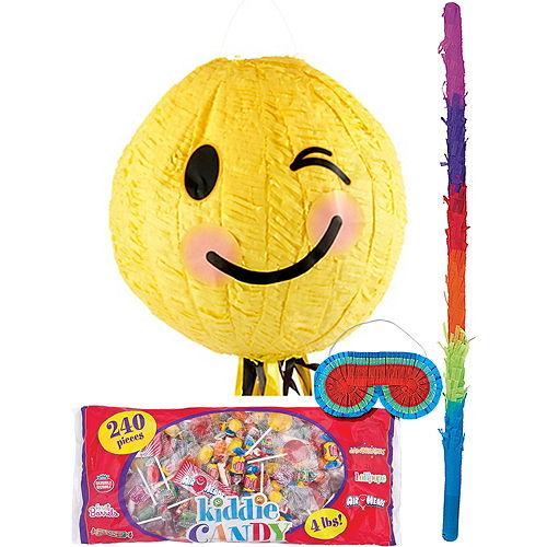 Winking Smiley Pinata Kit Image #1