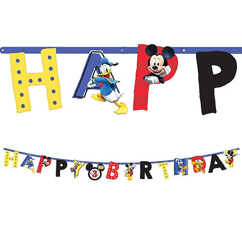 Mickey Mouse Roadster Tableware Party Kit for 8 Guests Image #10