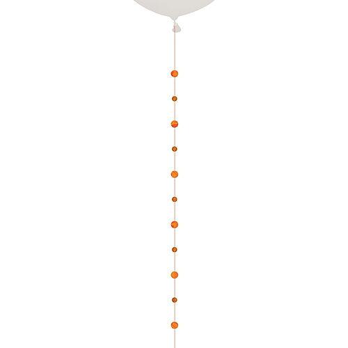 Orange Circles Balloon Tail Image #1