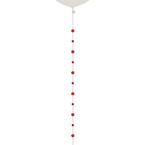 Red Circles Balloon Tail Image #1