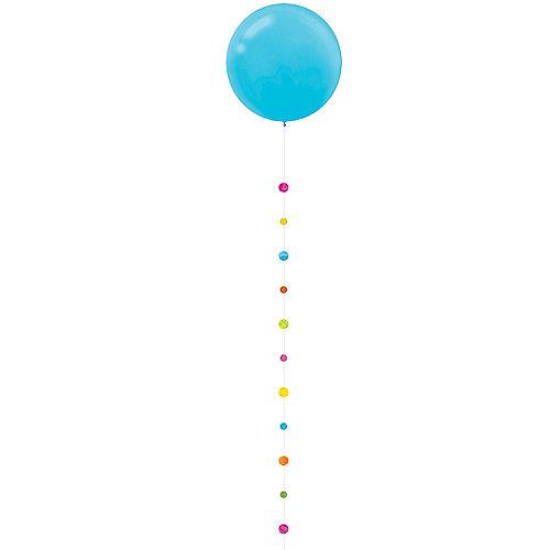Colorful Circles Balloon Tail Image #2
