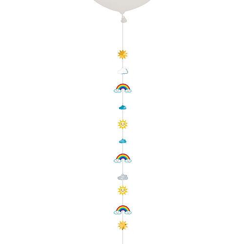 Clouds, Rainbows & Sun Balloon Tail Image #1
