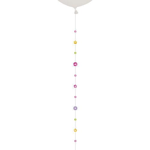 Pastel Flowers Balloon Tail Image #1