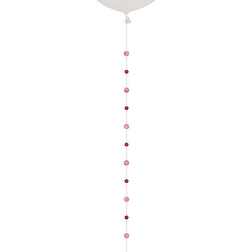 Pink Circles Balloon Tail Image #1