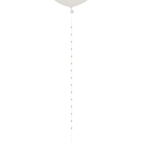 Light-Up LED Green Balloon Tail Image #1