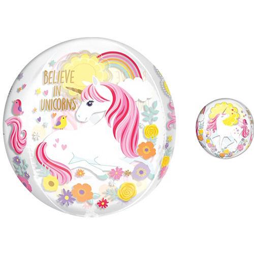 Magical Unicorn Balloon - See Thru Orbz Image #1