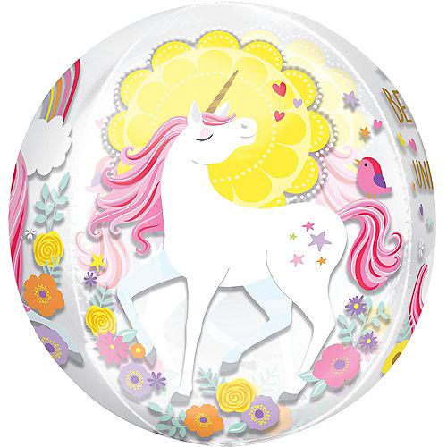 Magical Unicorn Balloon - See Thru Orbz Image #2